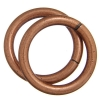Jump Ring 20mm - Thick 2.6mm Antique Copper
